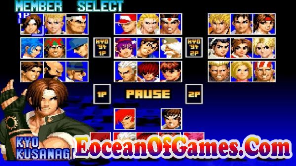 The King of Fighters 97 Features