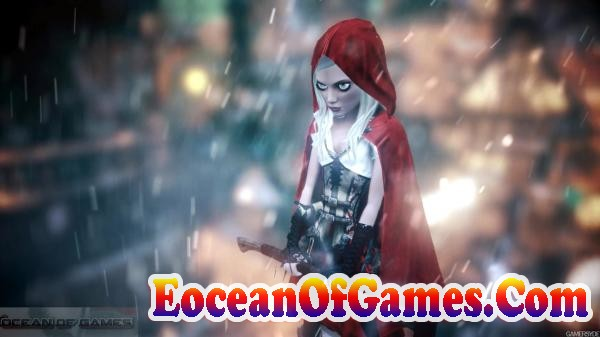 Woolfe The Red Hood Diaries Features