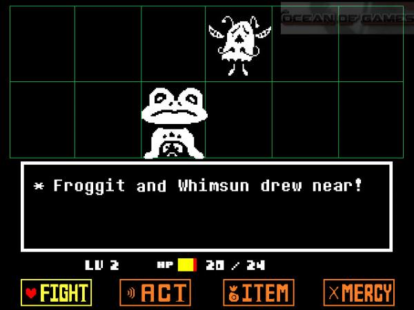 Undertale PC Game Features