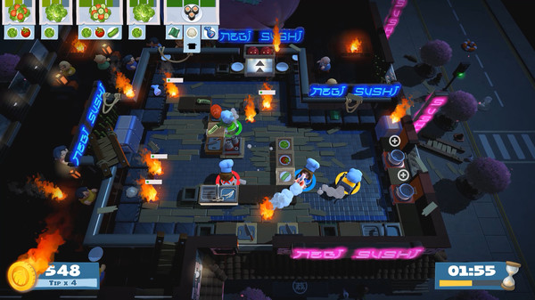 Overcooked 2 Chinese New Year Free Download