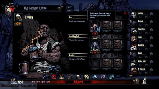 Darkest Dungeon Features