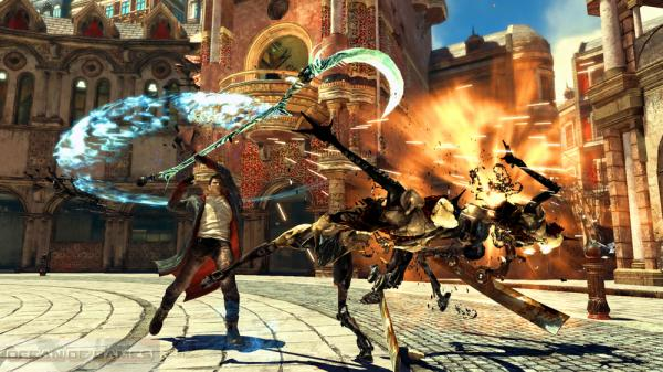 Devil May Cry 4 Features