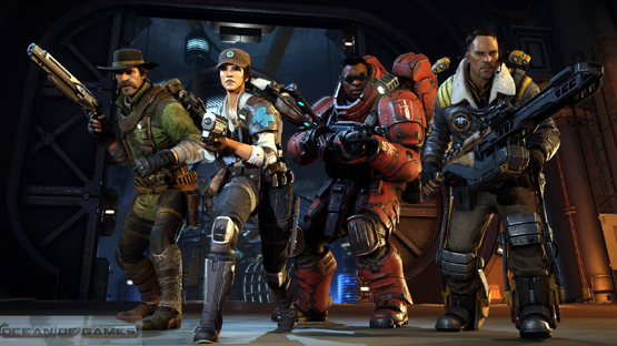 Evolve PC Game 2015 Features