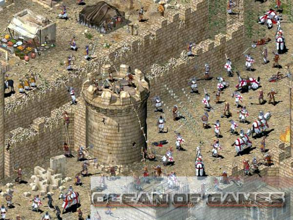 Stronghold Crusader Features